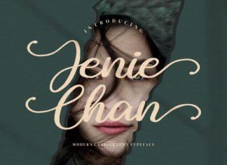 Jenie Chan Calligraphy Font