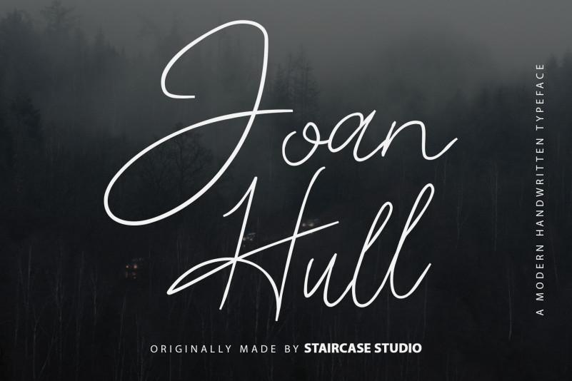 Joan Hull Handwritten Font