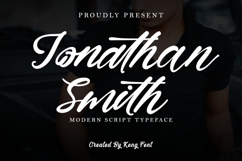 Jonathan Smith Script Font