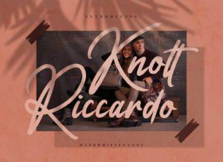 Knott Riccardo Script Font
