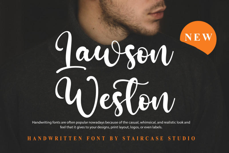 Lawson Weston Script Font