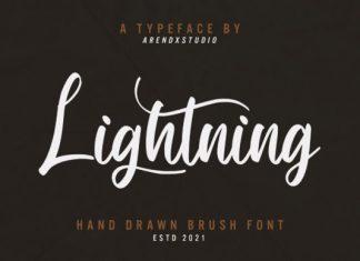 Lightning Script Font