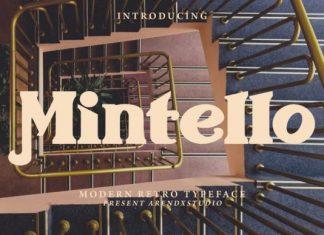 Mintello Serif Font