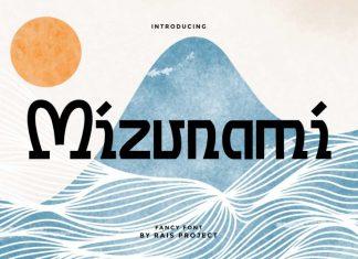Mizunami Sans Serif Font