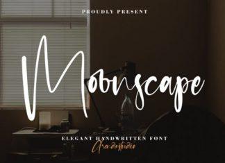 Moonscape Script Font