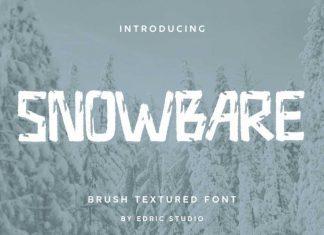 Snowbare Display Font