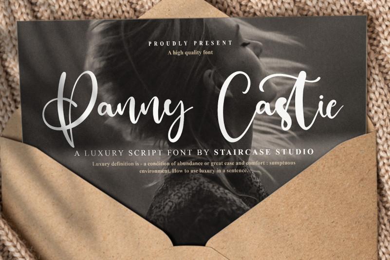 Panny Castie Script Font