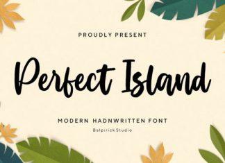 Perfect Island Script Font
