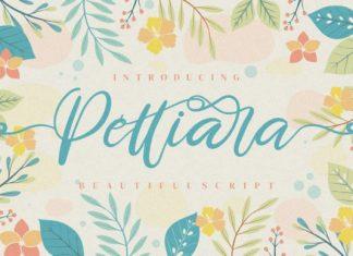 Pettiara Calligraphy Font