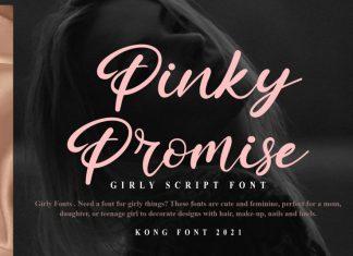 Pinky Promise Script Font