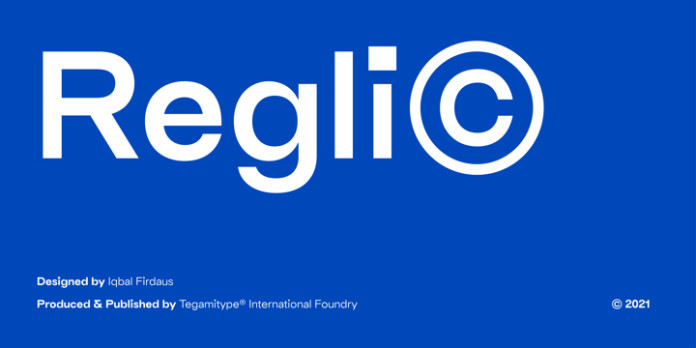 TG Reglic Sans Serif Font