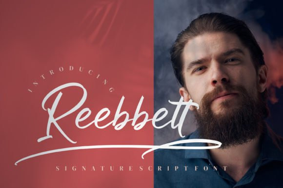 Reebbett Script Font