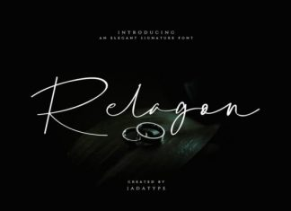 Relagon Script Font