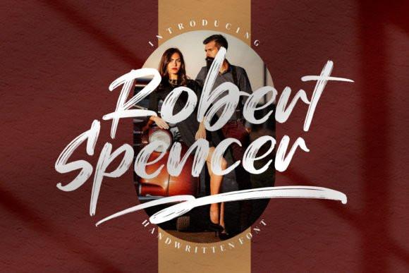 Robert Spencer Brush Font