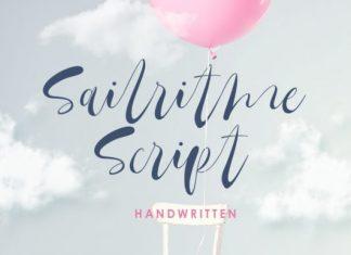 Sailritme Script Font