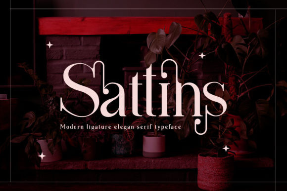 Sattins Serif Font