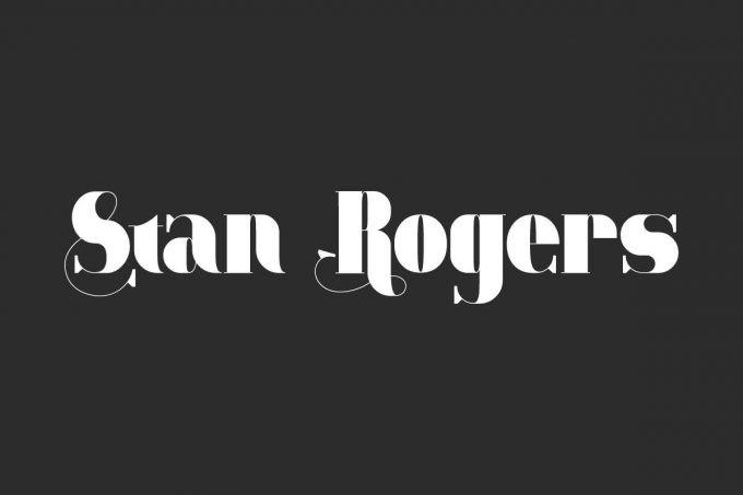 Stan Rogers Serif Font
