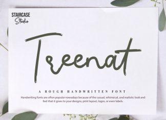 Treenat Script Font
