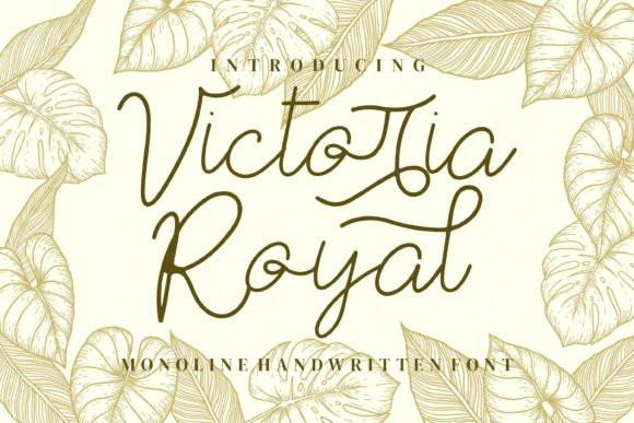Victoria Royal Handwritten Font