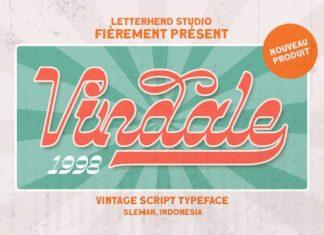 Vindale Display Font