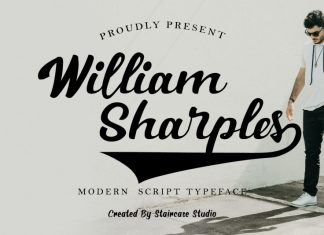 William Sharples Script Font
