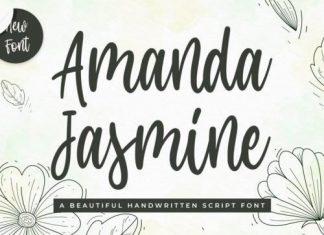 Amanda Jasmine Script Font