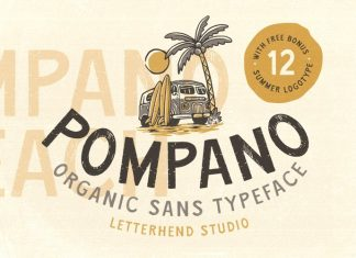 Pompano Display Font