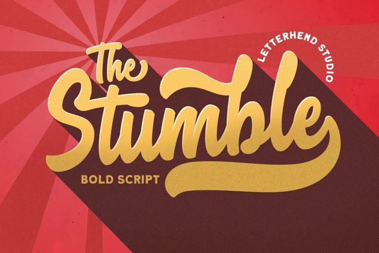 Stumble Script Font