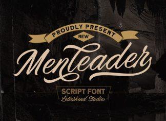 Menleader Script Font