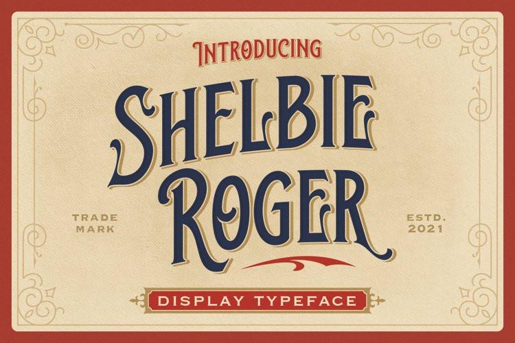 Shelbie Roger Display Font