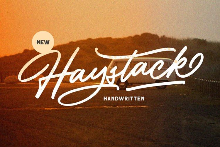 Haystack Handwritten Font