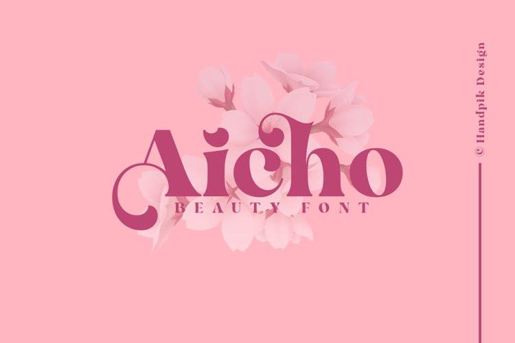 Aicho Serif Font