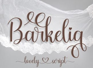 Barkelia Script Font