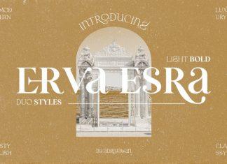 Erva Esra Serif Font