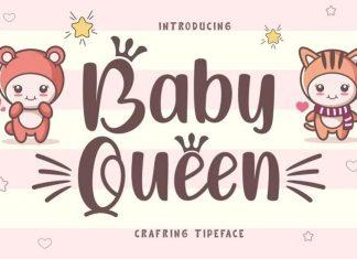Baby Queen Display Font
