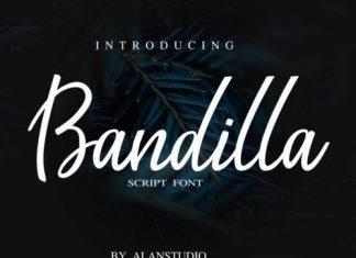 Bandilla Script Font