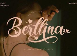 Berllina Calligraphy Font