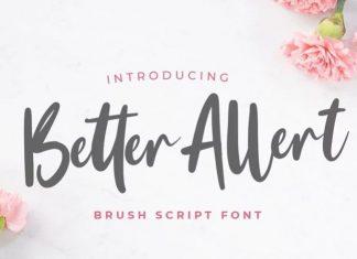 Better Alert Script Font