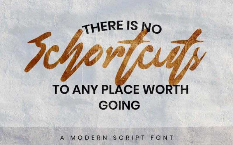 Blondering Script Font