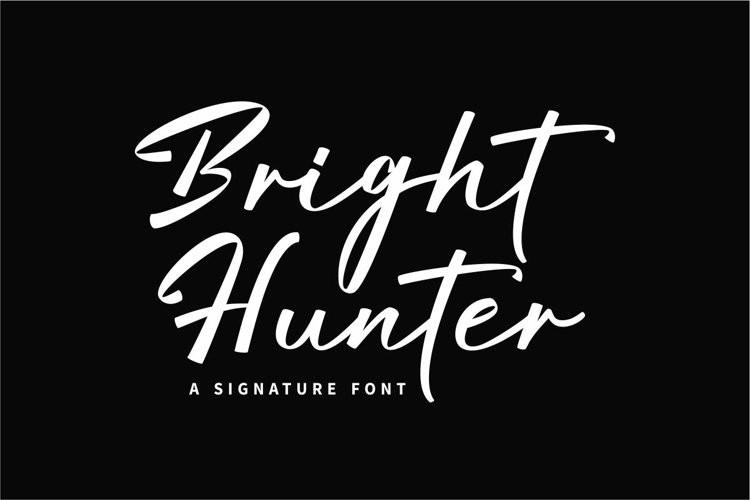 Bright Hunter Script Font