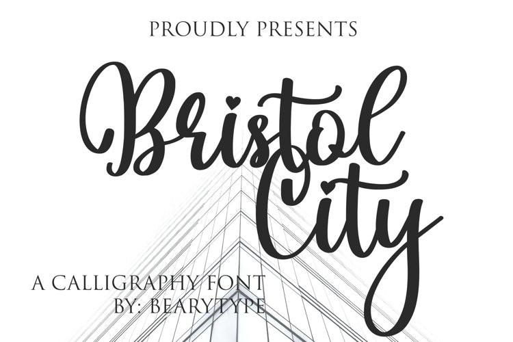 Bristol City Script Font
