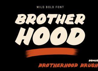 Brotherhood Brush Typeface