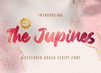 The Jupines Brush Font