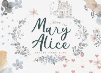 Mary Alice Script Font