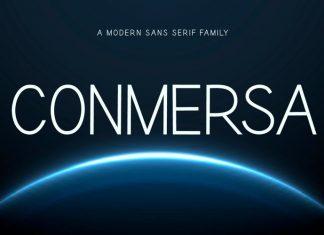 Conmersa Sans Serif Font