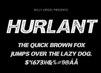 HURLANT Display Font