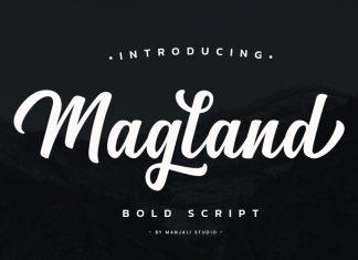 Magland Script Font