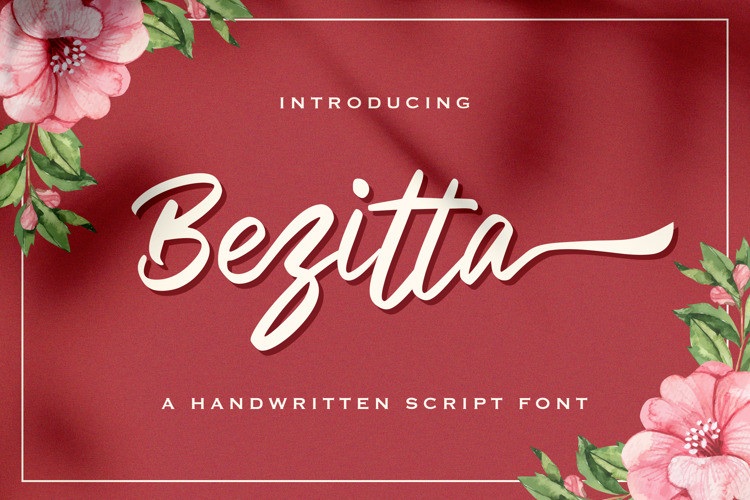 Bezitta Calligraphy Font