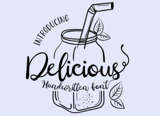 Delicious Calligraphy Font