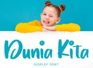 Dunia Kita Display Font